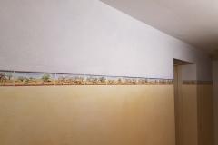 Lasur Sauna Wandgestaltung
